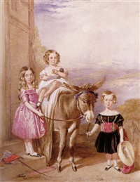 die kinder von william palmer esqu. by frederick tatham