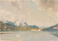 lago bianco bernina by wilhelm ludwig lehmann