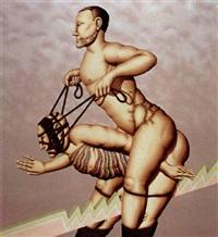untitled (bondage) by robert lostutter
