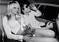pamela anderson and david lachapelle, los angeles by roxanne lowit