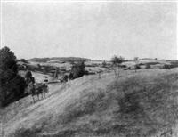 landschaft in oberhessen by georg altheim