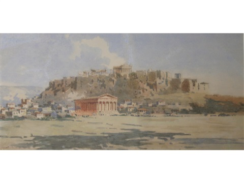 temple of hephaestus athens by angelos giallina