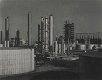 richfield oil refinery by will connell