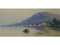 a coastal town, corfu by angelos giallina