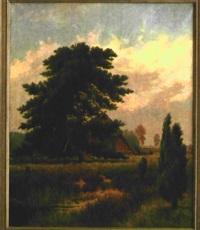 schuckenstall in der heide by arthur willibald ahnert