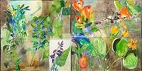 bucks garden/aguda dana (diptych) by roberto juarez