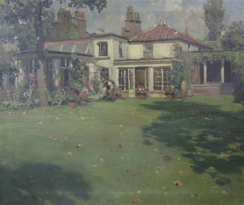 the old house by william r stott