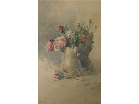 a jug of roses by angelos giallina