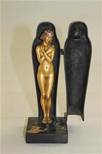 egyptian metamorphic sarcophagus by franz bergman