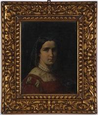 portrait de femme by francesco hayez