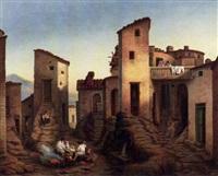 ansicht von civitella in den sabiner bergen bei rom by jacob jacobson