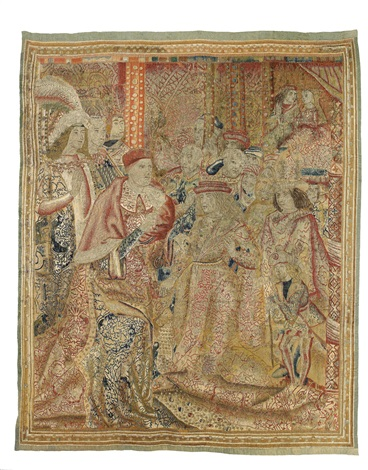 tapestry part of burgundyflanders