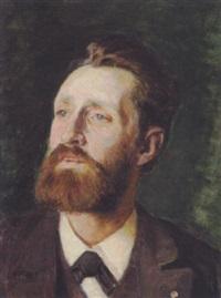 kunstnerens selvportræt by georg sofus seligmann