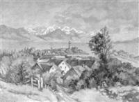 wasserburg am bodensee by heinrich buhler