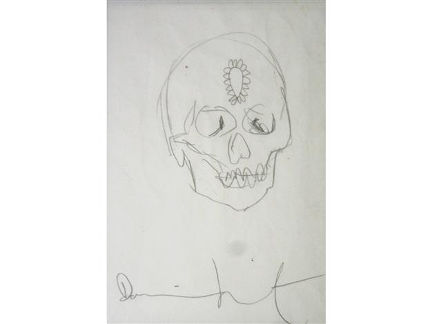 skull by damien hirst