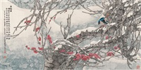 red plum blossom by liu yitao