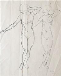 aktstudien (study) by leo steck