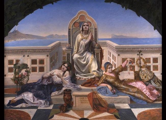 die weiblichen liebesallegorien der italienischen dichter dante petrarea boccaccio by charles louis fredy de coubertin