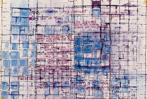 ohne titel back through lake charles by brion gysin
