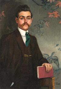 retrato del escritor eduardo marquina by ramón pichot girones