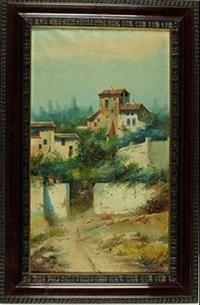 pueblo andaluz by jose maria jardines
