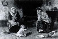 three generations by franz gelbenegger