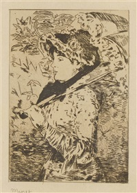 jeannne by édouard manet