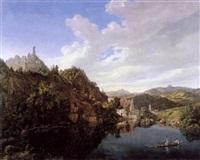landschaft im fränkischen altmühltal by ferdinand wilhem von couven