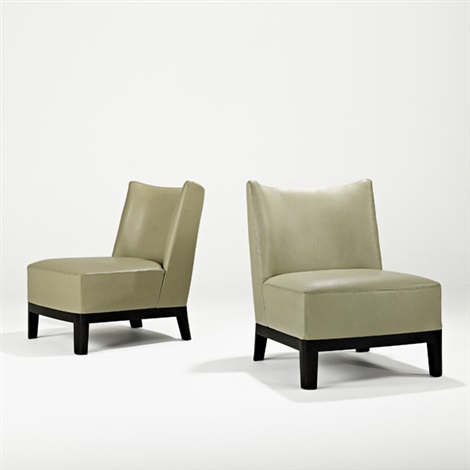 lounge chairs pair by christian liaigre