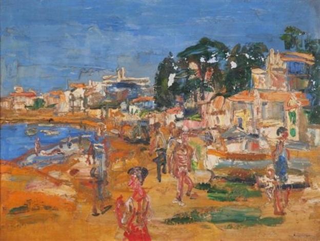 at the beach by paul maas