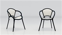 吉-ch 07 棉椅 (两件一组) (ji-ch 07 cotton chair) (set of 2) by mvw (co.)