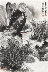 万物初醒 (landscape) by xu xuecheng