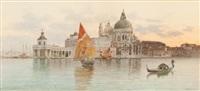 grand canal, venice by eugenio benvenuti