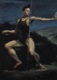 giovane atleta by wainer vaccari