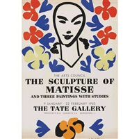 the sculptures of matisse...1953 tate gallery by henri matisse