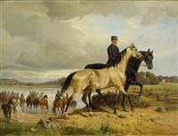 hästarna vattnas by johan georg arsenius