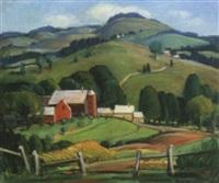 vermont hills by elizabeth miller lobingier