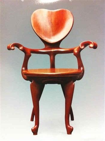 卡佛椅 实心 calvet armchair by antoni gaudí
