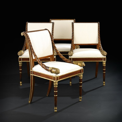 armchairs, four, st. petersburg
