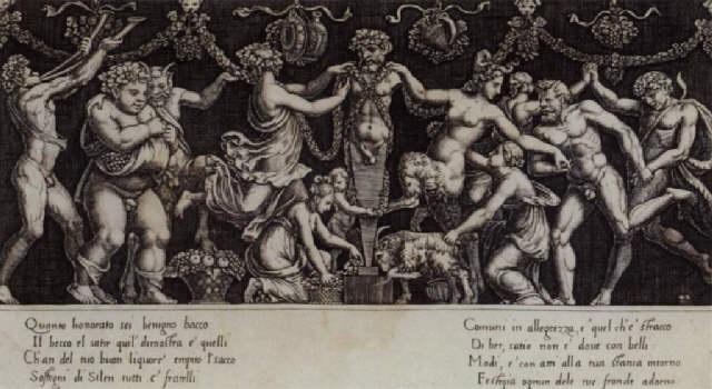 sacrifice de priape by bernardo dado daddi