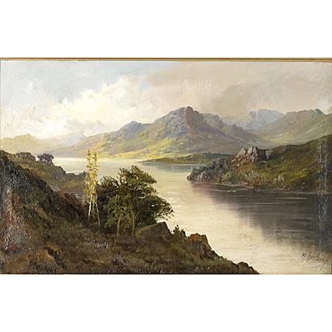 eagle cliffs at pasfile lake by m. jackson