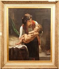 maternal affection by edward henry eugene fletcher