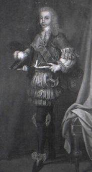 retrato del rey luis i by josé maria rodríguez de losada