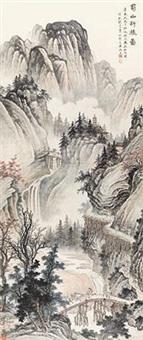 蜀山行旅图 by ma dai