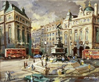 picadilly circus london by leo fontan