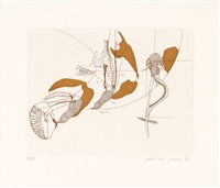 insektenbelustigung. augustin johann roesel von rosenhof in memoriam (portfolio of 15 w/text by armin geus) by gabriele grosse