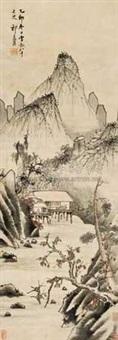 山水 by qi zhijia