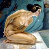 susanne i badet by franz kienmayer
