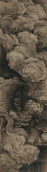 云龙图 (dragon in clouds) by zhou xun