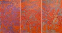utan titel (triptych) by johan scott